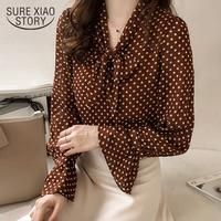Style Flower Printed Blouses Shirts Lady Casual Short Flare Sleeve Bow Tie V-Neck Blouse Korean Blouse, Summer Blouses, Long Blouse, Long Sleeve Tunic, Plus Size Blouses, Half Sleeves, Chiffon, Eyelet Top, Ladies Tops