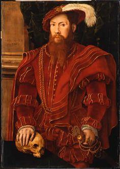 Portrait of a gentleman, 1546 - attributed to Hans Eworth  D'Outre-Manche : Catalogue en ligne - L'art britannique dans les collections publiques françaises (1100-1940)