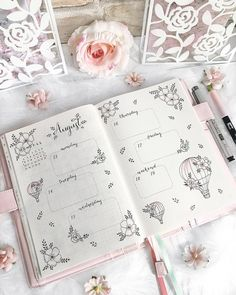 Werbung/Advertisement unpaid 🌸 hey dear ones ☺️ now you can see my complete week with all the moon phases in a flower look ☺️💕🌝🌸 Wish you… Diy Bullet Journal, Bullet Journal Planner, Bullet Journal Themes, Bullet Journal Spread, Bullet Journal Layout, Journal Pages, Journal Inspiration, Planer Cover, Bellet Journal