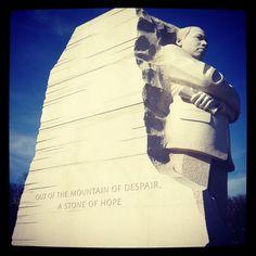 MLK Memorial in Washington, DC.