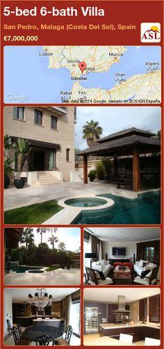 5-bed 6-bath Villa in San Pedro, Malaga (Costa Del Sol), Spain ►€7,000,000 #PropertyForSaleInSpain