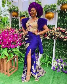 It's another year that is brimming with different aso ebi styles and you definitely want to be a partaker of these fabulous 2020 ANKARA FASHION styles. Nigerian Lace Styles, Ankara Gown Styles, Ankara Wedding Styles, Dress Styles, Blouse Styles, African Attire, African Dress, Long Skirts Images, Latest Cord Lace Styles