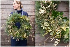 How to make a foraged wreath