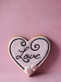 #love wedding cookies