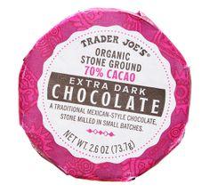 Trader Joe's Organic Stone Ground Chocolate 70% Cacao