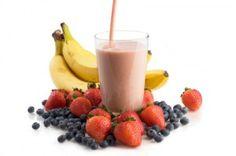 fertility smoothie: 1 banana, 1 serving protein powder, 1/4c blueberries, 1/4c strawberries, 1/4c mango, 1T maca, 2T hemp seeds, 1t spirulina, water