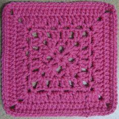 Crochet Bedspread Pattern, Crochet Granny Square Afghan, Crotchet Patterns, Crochet Blocks, Granny Square Crochet Pattern, Crochet Stitches Patterns, Crochet Motif, Crochet Yarn, Granny Squares