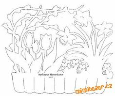 Velikonoční vystřihovánky do oken | Mimibazar.cz Album, Stencil Designs, Scroll Saw, Kirigami, Paper Cutting, Stencils, Easter Ideas, Silhouettes, Decor