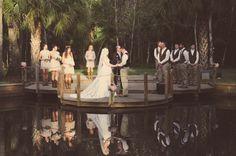 Outdoor wedding venue Country Chic
