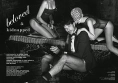'BELOVED & KIDNAPPED': ANDRÉS VELENCOSO PARA CLIENT MAGAZINE NO.12