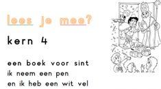 Een boek voor sint kern 4 VLL groep 3 Juf Maike