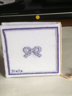 Sheila's needle case - back