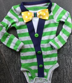 Baby Boy Sweater Onesie Preppy Modern look by BabyBobbers on Etsy, $30.00