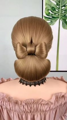 High Ponytail Hairstyles, Up Hairstyles, Wedding Hairstyles, Hairdo For Long Hair, Easy Hairstyles For Long Hair, Hairstyles For Medium Length Hair Tutorial, Hair Style Vedio, Bridal Hair Buns, Hair Up Styles