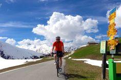 Glaspass in Graubünden / Schweiz: max. Steigung 15 Prozent, 1213 m Höhendifferenz, 1846 m ü. M.