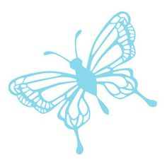 Silhouette Design Store - View Design #133157: detailed butterfly