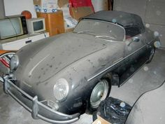 1958 Porsche Speedster - barn find extraordinaire