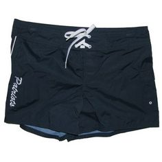 Official New England Patriots ProShop - Ladies Cabo Shorts-Navy