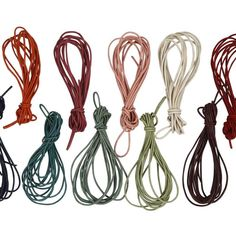 creativitydirect.co.uk  coloured leather cord