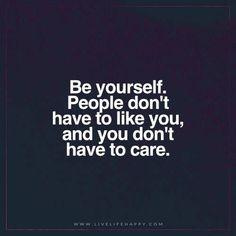 Sei einfach, wie du bist! #Sprüche #Zitat #Deutsch #Leben