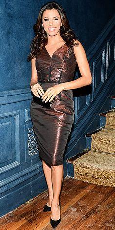 Another applaudable dress within a week!  EVA LONGORIA photo | Eva Longoria