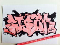 ziber graffiti sketch