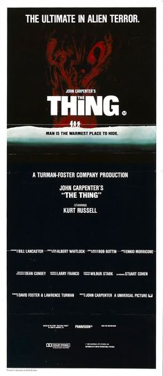 The Thing, 1982 - USA poster