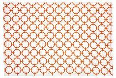 Geo Circles Place Mat, Orange on OneKingsLane.com