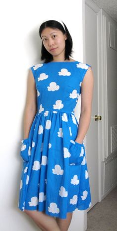 I would like to know how to sew so I can make this diy anthropologie backswept dress.
