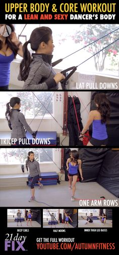 My friend Kerry Wee is teaching us to do the AERIAL SILKS! Before we get off the ground, I put together a workout routine to help us get that aerialist body! Click the image for the full workout.