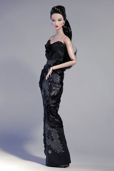 Multi-textured evening gown.   Visit Pre-order page --> www.…   Flickr