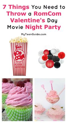 With Valentine�s Day approaching, it is the perfect time for a Romantic Comedy Movie Themed Party. We love this party idea because it perfect for both couples and singles, so you're not leaving anyone out. Let's check out a few ideas on how to make the ni