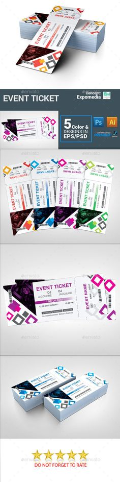 Vintage Event Ticket Template PSD Ticket Templates Pinterest - fundraiser ticket template