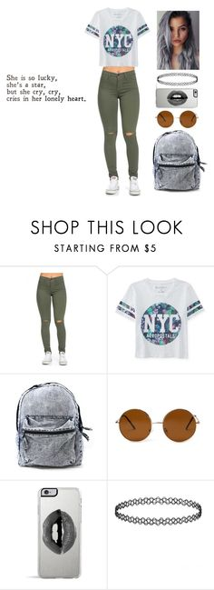 """""""90's Vibes"""" by porcelain-ninja ❤ liked on Polyvore featuring Aéropostale, Forever 21, Lipsy, women's clothing, women's fashion, women, female, woman, misses and juniors"""