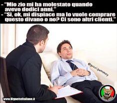 #vignetteitaliane.it #vignette #divertenti #italiane #funny #lol #immagini #pics #umorismo #risate #ridere #psichiatra