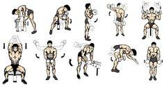 Dumbbells' workout.  P.S. Ale hantle dziwnie się nazywają po angielsku o.O