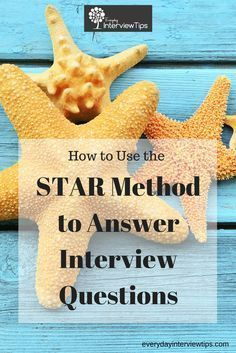 star method sample interview questions