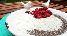 Málnás-chiás proteines zabkása – maxnutrition