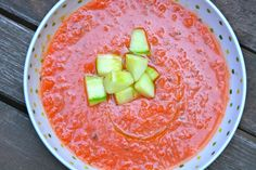 This is a light and refreshing dish - perfect for a summertime lunch or starter before the main dinner course! Gazpacho, Whole 30, Cantaloupe, Keto Recipes, Watermelon, Summertime, Recipies, Clean Eating, Good Food