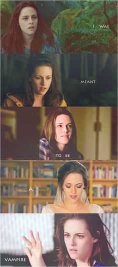 "The Twilight Saga: Bella Swan Cullen-""I was meant to be a vampire"""