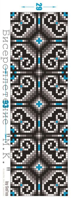 nice graph for crochet Bead Loom Patterns, Peyote Patterns, Bracelet Patterns, Beading Patterns, Embroidery Patterns, Cross Stitch Patterns, Cross Stitching, Cross Stitch Embroidery, Mochila Crochet