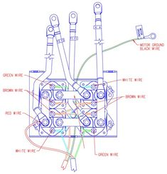3 wire warn control diagram 8 best 8274 warn images electric winch  network world  winch  8 best 8274 warn images electric