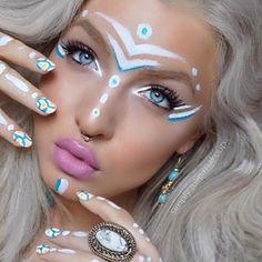 48 Best Neon Face Paint Ideas Neon Face Paint Uv Makeup Neon