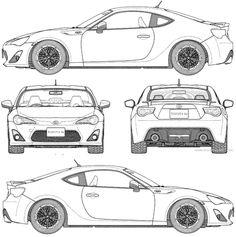 Bike Sketch, Car Sketch, Kitt Knight Rider, Camaro 1969, Scale Model Ships, Cars Coloring Pages, Toyota 86, Bugatti Cars, Futuristic Cars