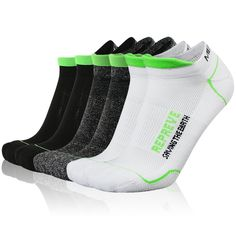 Green Love Heart Crazy Socks Soft Breathable Casual Socks For Sports Athletic Running