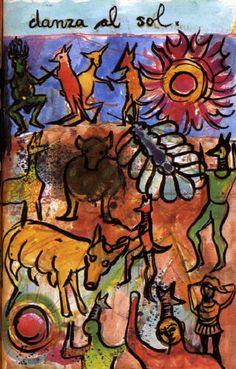 Danza al sol - Del diario de Frida Kahlo.