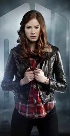 I can't help looking at her plaid shirt and thinking she would survive an episode of Supernatural. XD