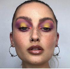 - Fun makeup looks Makeup Inspo, Makeup Art, Makeup Inspiration, Beauty Makeup, Fun Makeup, Makeup Ideas, Makeup Eye Looks, Creative Makeup Looks, Coachella Makeup