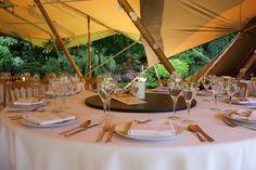 .stunningtents.co.uk summer 2013 tipi wedding. Stunning Tents. Tipi & Wedding / Tipi / Stunning Tents./ Table Settings / www ...