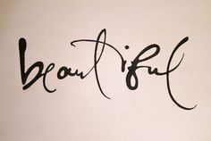 Love the way this is written, I would love this ink font for my next tattoo with henry :)